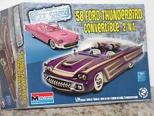 MONOGRAM #85-4280 1/25 1958 FORD THUNDERBIRD CONVERTIBLE OPEN/ F/SI