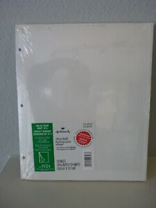 Hallmark AR1024 Self Adhesive Album Refill Pages (x18) For Large 3 Ring Sealed