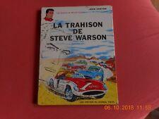 "bd michel vaillant ""la trahison de steve warson"" 1964 j Graton"