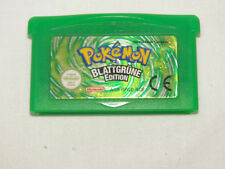 Nintendo Game Boy Advance Modul Spiel - Pokemon Blattgrüne Edition