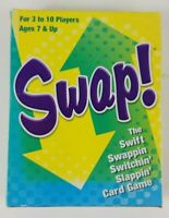 Swap Card Game 2013 Patch Products COMPLETE Rare