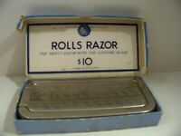 Vintage Rolls Razor Imperial No. 2 Made In England With Original Box & contents
