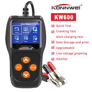 KONNWEI KW600 Professioneller Auto Batterietester mit Anlasssystem
