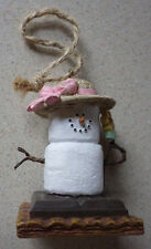 "Midwest The S'Mores Snowman Original Christmas Ornament Decoration 2.5"" Tall"