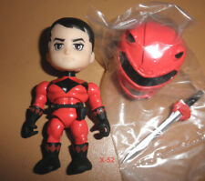 RED RANGER exclusive STEALTH black POWER RANGERS vinyl figure TOY loyal subjects