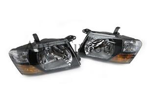 Headlights Left And Right Side (Pair) For Mitsubishi Pajero NM (2000-2002)