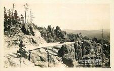1930s Rapid City South Dakota Observation Bend Rise Studio RPPC real photo 6183