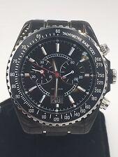 GUESS Men Wrist Watch  Black Stainless Strap Chronograph 46001G2 / G46001G2