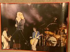 LED ZEPPELIN 1979 LIVE CONCERT SHOT By Frank Griffin VINTAGE POSTER Very Good Co