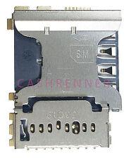 SIM Konnektor Karten Leser Halter Card Reader Connector Slot Samsung Galaxy Core