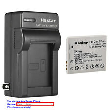 Kastar Battery Wall Charger for Canon NB-4L NB-4LH PowerShot SD1100 IS SD1400 IS