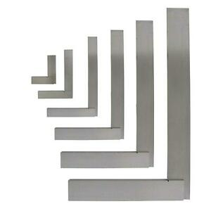 """4""""(100mm),6""""(150mm),8""""(200mm),12""""(300mm) Engineers Polished Try Steel Set Square"""