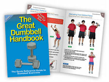 Dumbbell Book - Fitness Ball - Handbook - Workout guide - Dumbell Chart
