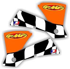 KTM FMF Shroud Graphics Kit 125 250 450 520 525 01-04 SX MXC EXC sticker decal