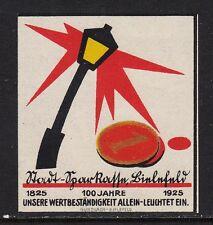 403254/ Reklamemarke - 100 Jahre Stadt-Sparkasse Bielefeld - 1925 - **