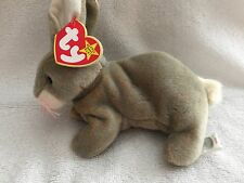 """TY BEANIE BABY  """"NIBBLY"""" MAY 7, 1998  - WITH HANG & TUSH TAG ERRORS - MWMT"""