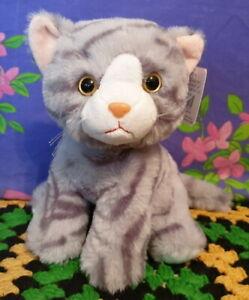 **Plush 20cm sitting Grey CAT ~ Otis ** by Elka