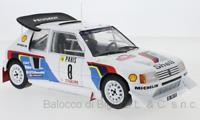 Model Car Rally Scale 1:18 Ixo Peugeot 205 T16 Monte Carlo diecast Rallye