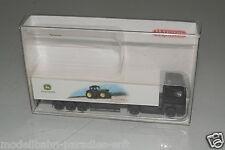 "Wiking piste n 9540526 valise-semi-remorque MB Actros ""John Deere"" emballage d'origine (e9652)"
