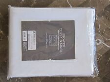 nwt threshold heavy weight peva mildew resistant shower curtain liner 70 x 71 in