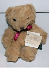 RUSS - Bears From The Past - Light Tan Wooley Bear - NEW!  Vintage Collectible