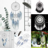 Large Feather Dream Catcher Handmade Wall Hanging Ornament Home Room Decor Craft