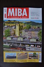 MIBA: DIE EISENBAHN IM MODELL - 07/2018 - Pralles Leben rund um den Bahnhof