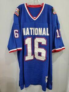 Mitchell & Ness 1990 Hawaii Pro Bowl Joe Montana 16 Throwback Jersey Mens 56 3XL