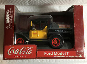 Coca-Cola Collectible Ford Model T Die Cast Coin Bank