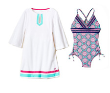 3f9ae0d7d9 Cabana Life Girls  Swimsuit   Cover-up Set 5