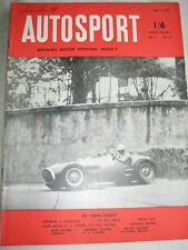 AUTOSPORT 9th MAGGIO 1952 * MILLE MIGLIA FERRARI WIN *