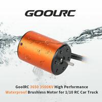 GoolRC 3650 3500KV Waterproof Brushless Motor for 1/10 RC Racing Car Truck HSP