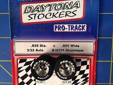 Pro Track N255 Daytona stockers 825 x .800 rear Tires 3/32 axle Mid America
