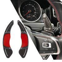 Schaltwippen DSG Shift Paddle Golf 7 GTI R GTD Polo Scirocco Echt Carbon Black