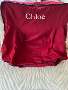 Slipcover Only for Anywhere Chair - Pottery Barn Kids - Red - Chloe