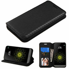 Synthetic Leather Patterned Card Pocket Cases and Covers for LG Mobile Phones