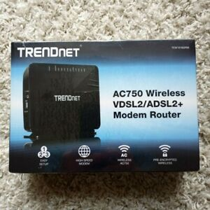 TRENDnet TEW-816DRM AC750 VDSL2/ADSL2+ Wireless Performance Modem Router (NEW)