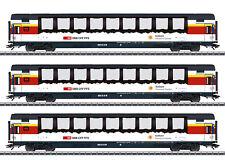 "Märklin 43650 Schnellzugwagen-Set ""Gotthard-Panorama-Express"" SBB 3-teilig #NEU"