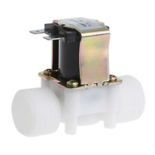 "3/4"" PP N/C Electric Solenoid Valve Water Control Diverter Device  AC 220V"