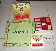 MONOPOLI 50° ANNIVERSARIO 1936-1986 Editrice Giochi Monopoly 50 PERFETTO