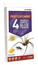 JT Eaton844 Pest Catchers Large Spider&Cricket Size Attractant Scented Glue Trap