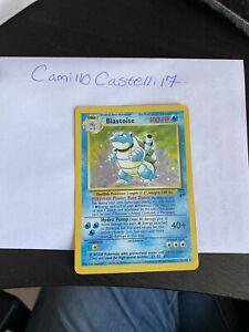 Base Set 2 Blastoise - Rare HOLO 2/130 Pokemon Card WOTC
