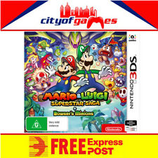 Mario & Luigi Superstar Saga + Bowser's Minions 3DS NEW Free Express Post