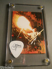 LOOK - KISS Gene Simmons tour guitar pick / card display #7!!! Great Gift!!!