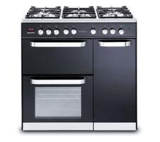 Kenwood CK503 Dual Fuel Range Cooker-Black