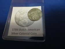 1784 Silver Early American Colonial Coin Before Us Minted Coins 234 Years Old!