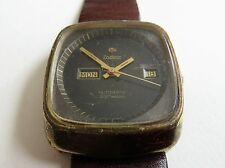 Vintage Zodiac SST 36000 Automatic Day/Date Watch - Spares or Repair
