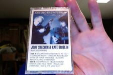 Jody Stecher & Kate Brislin- Blue Lightning- Rounder label- new/sealed cassette