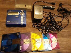 Sony Net Md Walkman Min Disc Recordable Player