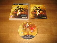 PS3 game - Resident Evil 5 Gold Edition (complete PAL)